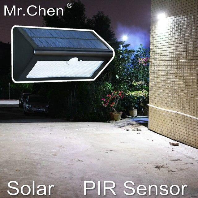 Solar Waterproof Human Body Sensor Intelligent Buiten Verlichting ...