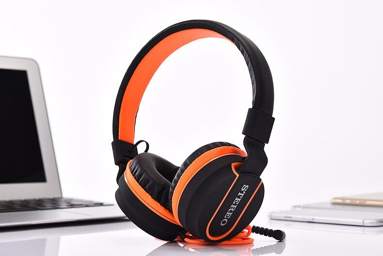 New AZ-01 6 Colors Adjustable Stereo Headphones Gaming Headset with Microphone Matte Finish for Mobile phone Computer PC Gamer