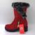 Rizabina nova moda mulher quente botas de neve mulheres flats bota dedo do pé redondo botas femininas de inverno meninas calçados tamanho 30-52