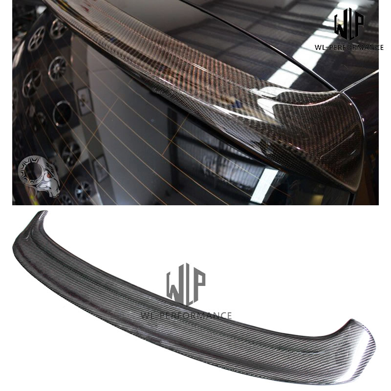 High Quality Carbon Fiber Auto Car Roof Wing Lip Spoiler Car Styling For VW Golf <font><b>5</b></font> MK5 GTI Car Body Kit <font><b>2004</b></font> -2009 image