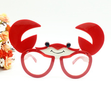 Funny Foldable Crab Costume Glasses Novelty Sunglasses Birth