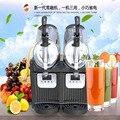 110V/220V Snow Melting machine/double Tank Slush Machine/Cold Drink Maker/Smoothies Granita Machine/Sand ice machine