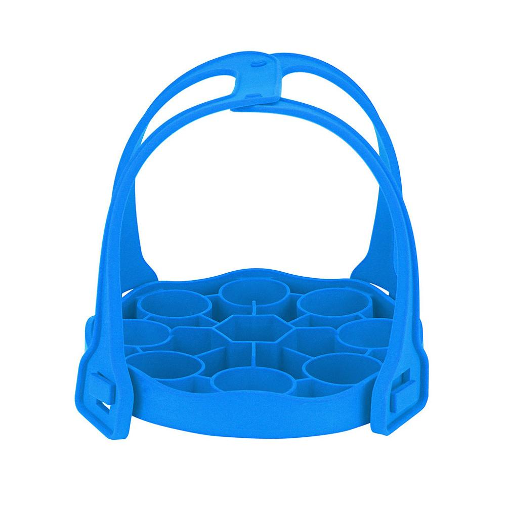 Baking Tools For Cakes Silicone Roasting Rack Bakeware Sling Trivet Oven Baking Rack For Cooking Steam Silicone Roasting Rack FD
