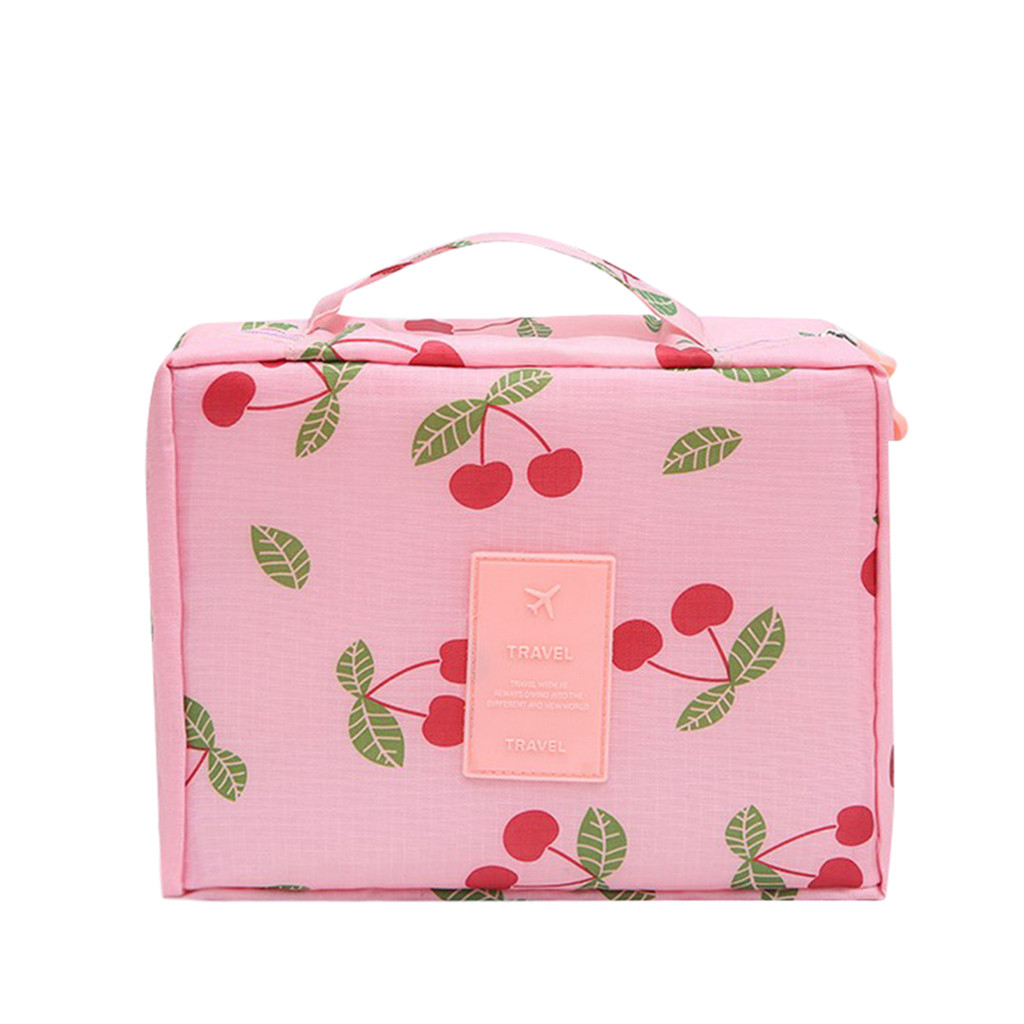 Image 4 - Makeup Storage Bag Travel Wash Bags Multi Functional Cosmetics Bag Multi Purpose Travel Storage Pouch Organizer Storage Box-in Storage Bags from Home & Garden