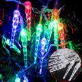2017 Luz de la Secuencia de 28 LED 4.5 M Navidad/de La Boda/Del Partido Luces Decoración AC 100 V 240 V Al Aire Libre llevó la lámpara