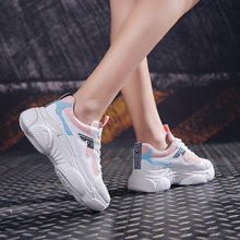 NEW Sport Sneakers Women 2019 Summer Women's Shoes Fashion Sport Platform Sneakers Summer Sport Sneakers Size 35 36 37 38 39 40(China)