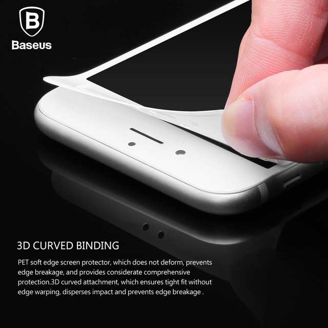 0.23MM Screen Protector Tempered Glass For iPhone 8 7 6 6s Plus Soft 3D Curved