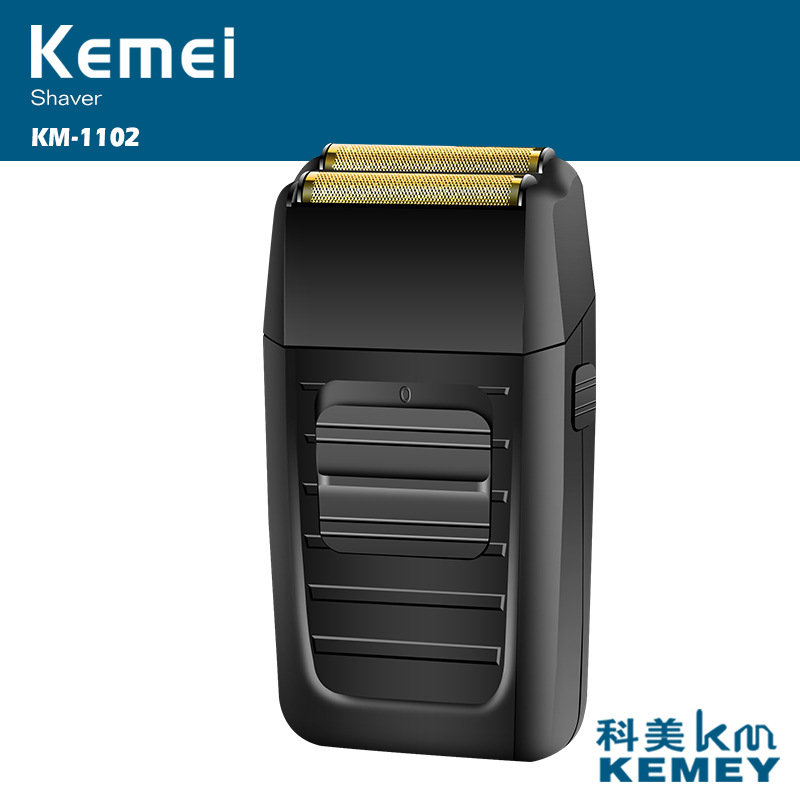kemei rechargeable electric shaver beard razor hair trimmer men shaving machine face care 3D floating shaver face care kemei portable rechargeable electric shaver twin floating blade shaving razor face care men beard trimmer machine
