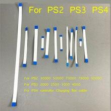 20 stücke für PS3 dünne 2000 2500 3000 4000 Power Reset Schalter Band Flex Kabel für PS4 lade board für PS2 79 77 75 70xxx 90000