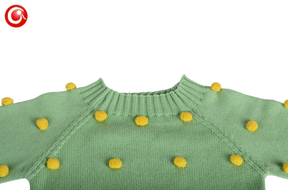 Children Christmas Winter Sweaters Baby Girls Cotton Kids Knitted Pattern Warm Cardigan Clothes With 25pcs Ball Tops For Boys   (8)