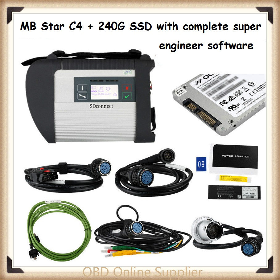 Mb star c4 sd connect 4 complete super engineers software for Mercedes benz com connect
