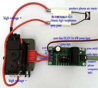 ZVS Tesla Coil Kits Module Booster High Voltage Generator Plasma Music Arc Speaker Diy Kits