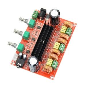 Image 3 - AIYIMA TPA3116 2.1 Digital Audio Amplifier Board TPA3116D2 Subwoofer Speaker Amplifiers DC12V 24V 2*50W+100W