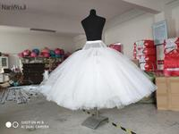 New 6 Layers No Hoops Petticoat Underskirt For Big Ball Gown Wedding Dresses 2018 Bridal Gowns Wedding Accessory Crinoline jupon