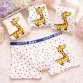 3 pçs/lote meninos calcinhas 2-8 anos criança menino dos desenhos animados do bebê cuecas de algodão