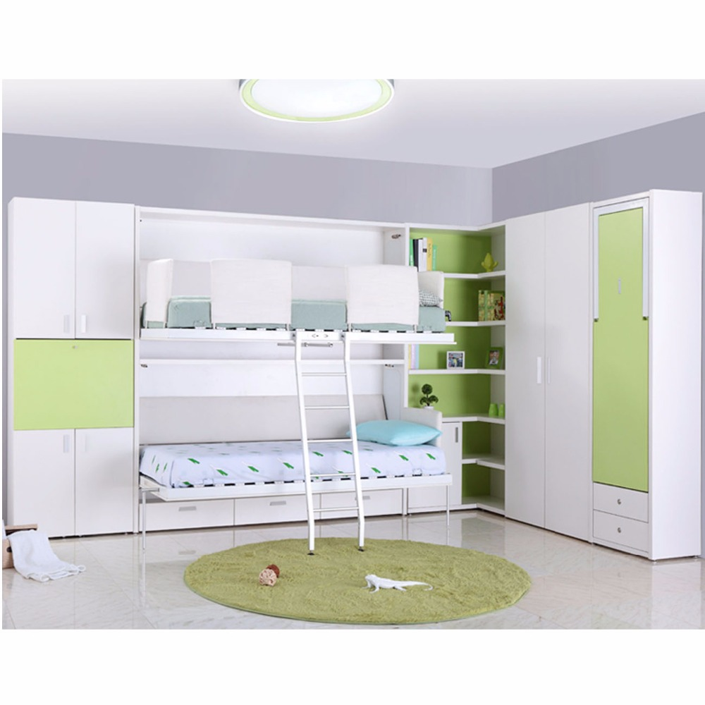 Tb0930 Customized Multifunctional Double Decker Hidden Wall Bed