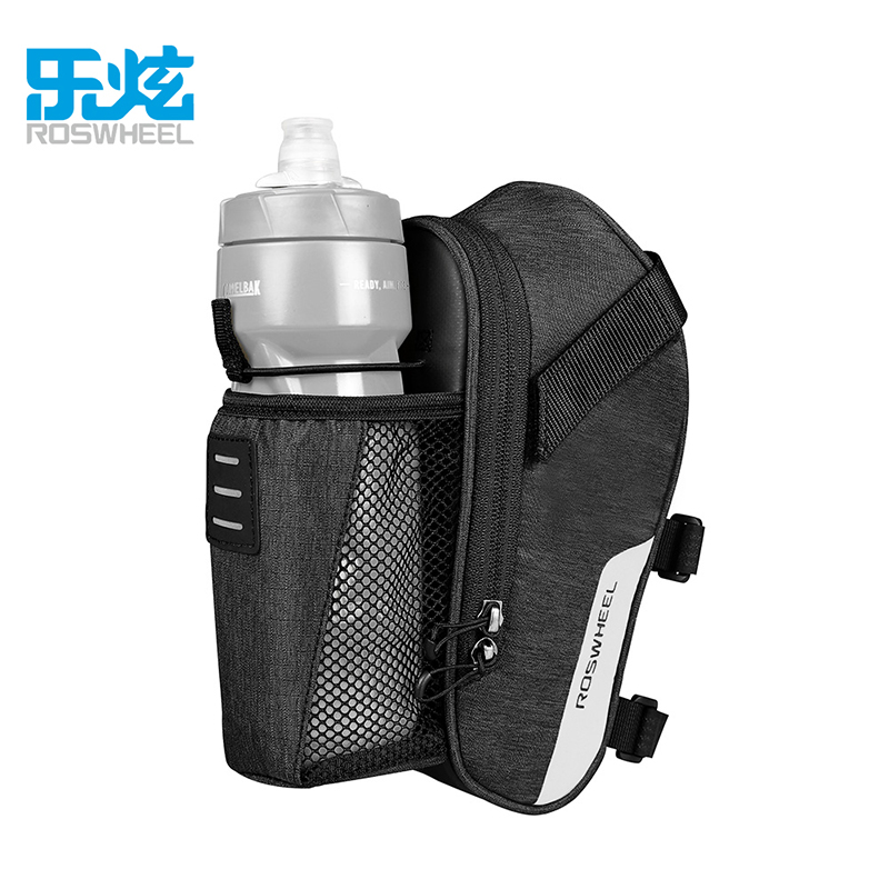 ROSWHEEL 131464/131474 ESSENTIAL Bicycle tail bags Bike kettle saddle bag New product Cycling Equipment LOHAS SERIES