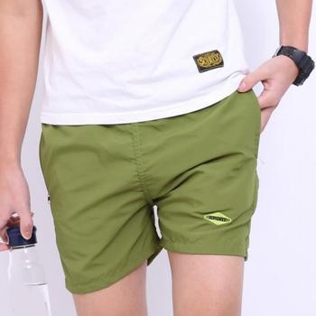 2018 Summer Fashion Mens Shorts Casual Cotton Slim Bermuda Masculina Beach Shorts Joggers Trousers Knee Length Short 1