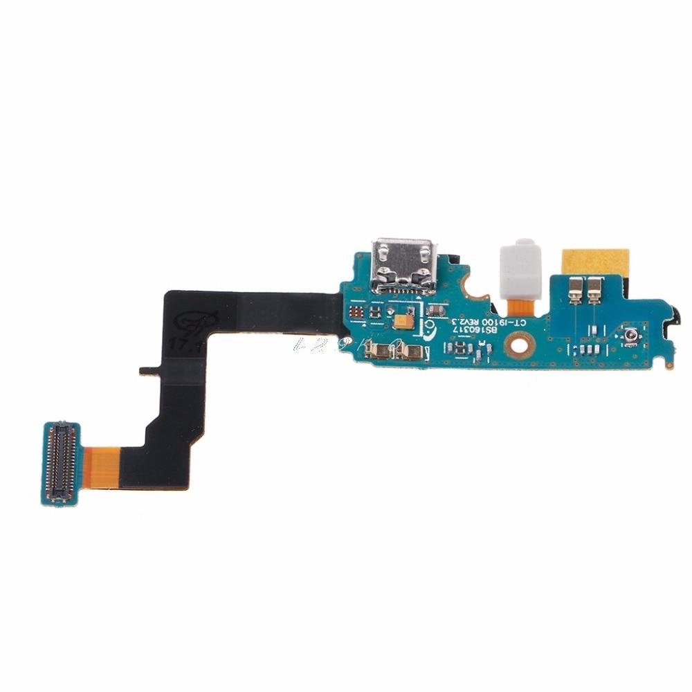 USB Charging Port Connector Flex Cable Repair Parts For Samsung Galaxy S2 I9100