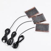 1 шт. зимние портативные теплые пластины USB нагреватель для коврик для мыши обувь Golves
