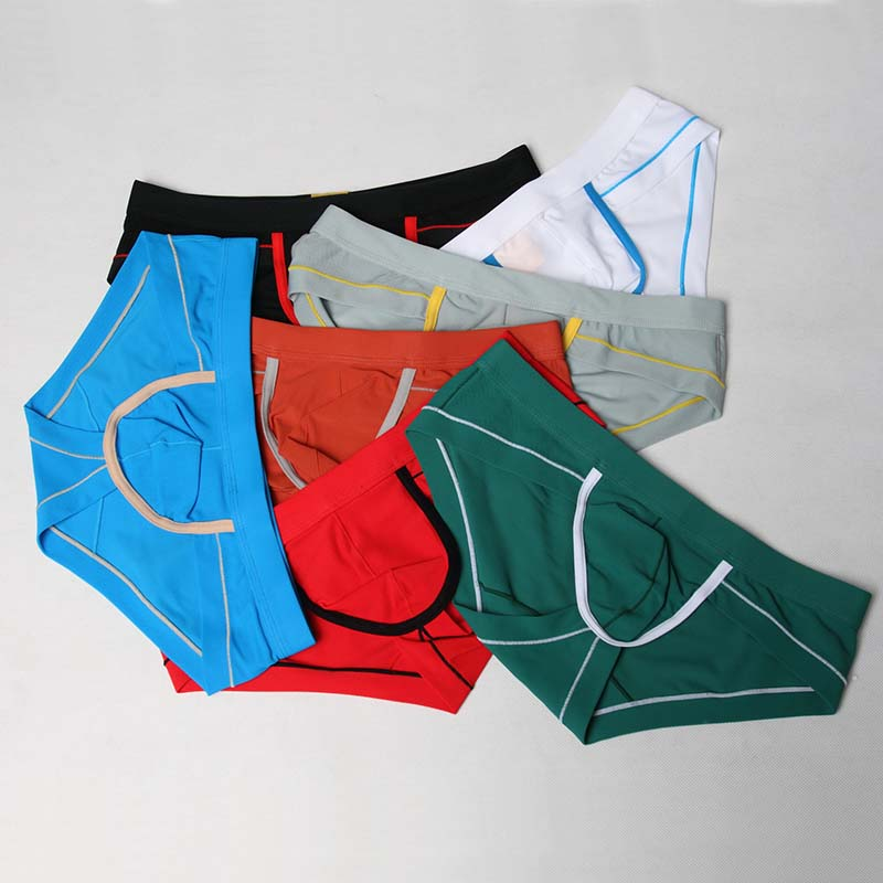 Sexy Gay Calzoncillos Mens Underwear Briefs Cueca Gay Calzoncillos Hombre Slips Nylon Briefs For Men Slip Sexy Underwear 4007XSJ