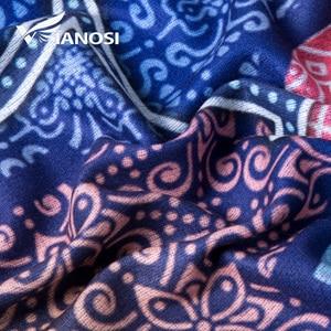 Image 5 - [VIANOSI] 2018 Women Scarf Wool Warm Scarves Fashion Classic Pattern Print Shawl Luxury Foulard Thicken Hijab Scarf