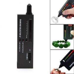 2018 Digital Accuracy Diamond Tester Selector Gemstone Detector Jewelry Testing Tool A14_20