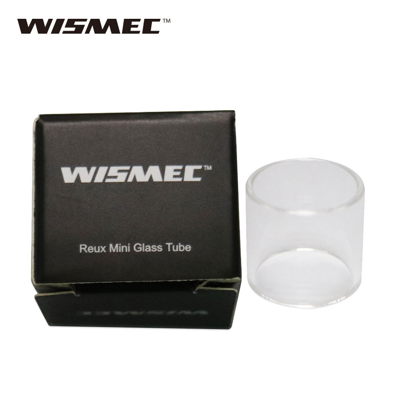 Original WISMEC Reux Mini Tank Tube Pure Pyrex Glass Tube Replacement Glass Tube for Reux Mini electronic cigarette Atomizer