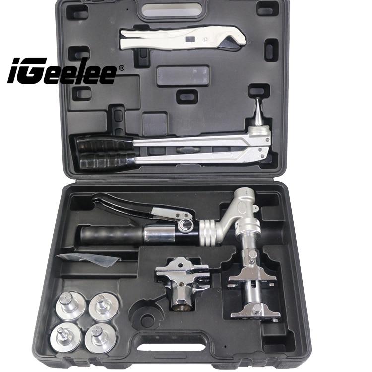 iGeelee Popular Hydraulic Pex Press tool IG 1632AZ Range 16 32mm used for REHAU Systems with