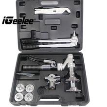 IGeelee Популярный Гидравлический Пресс Pex IG-1632AZ диапазон 16-32 мм используется для систем REHAU с pex пресс ing и расширяющиеся инструменты