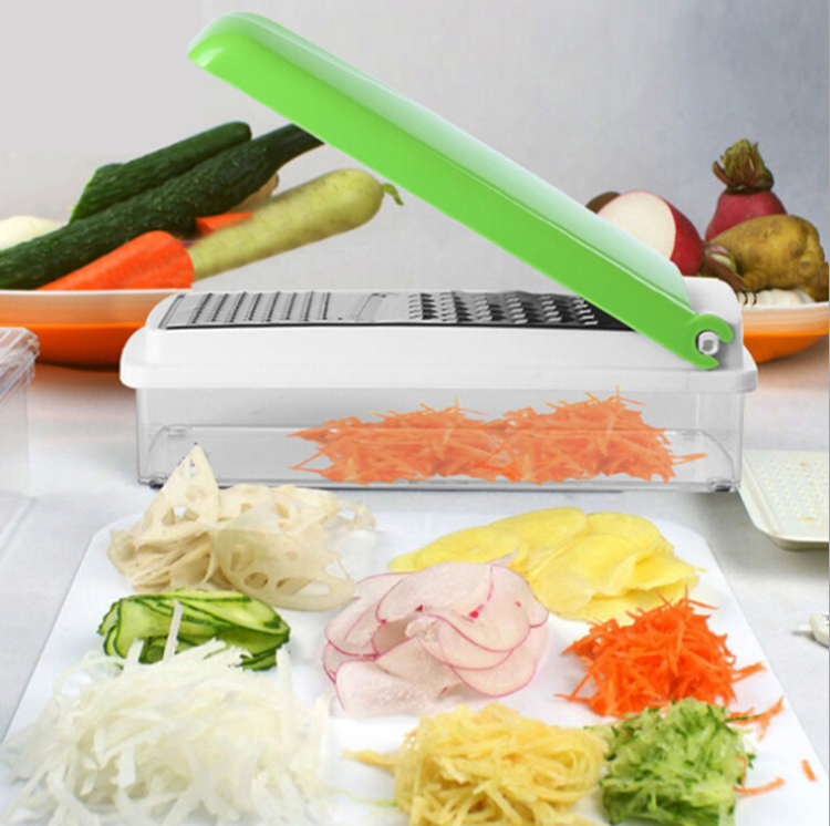 Multi Vegetable Fruit Peeler Cutter Chopper Slicer Fruit Vegetable Tools Kitchen Accessories SQ179