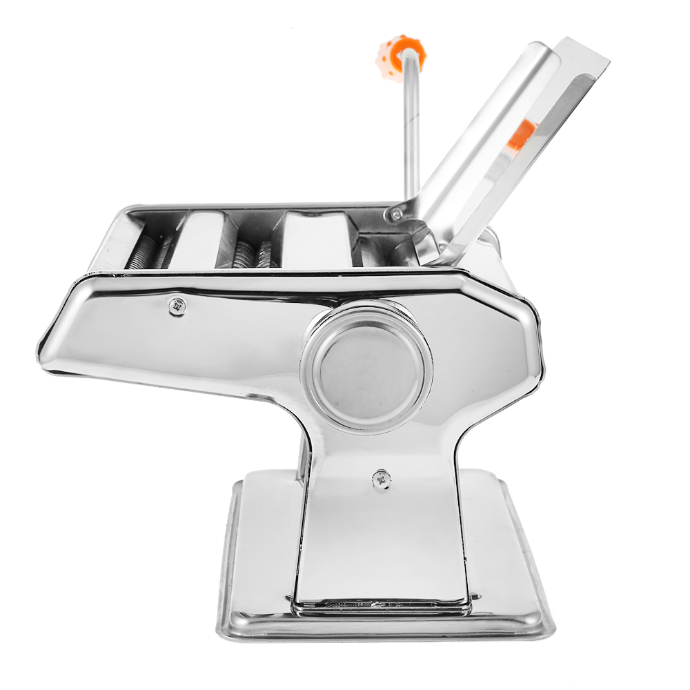 Stainless Steel ordinary Household Pasta Making Machine Manual Noodle Maker Hand Operated Spaghetti Pasta Cutter Noodle Hanger image