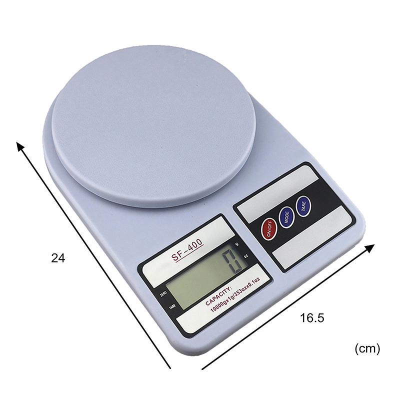 1 gr to 22lbs Weight KITCHEN scale ELECTRONIC ABS LCD