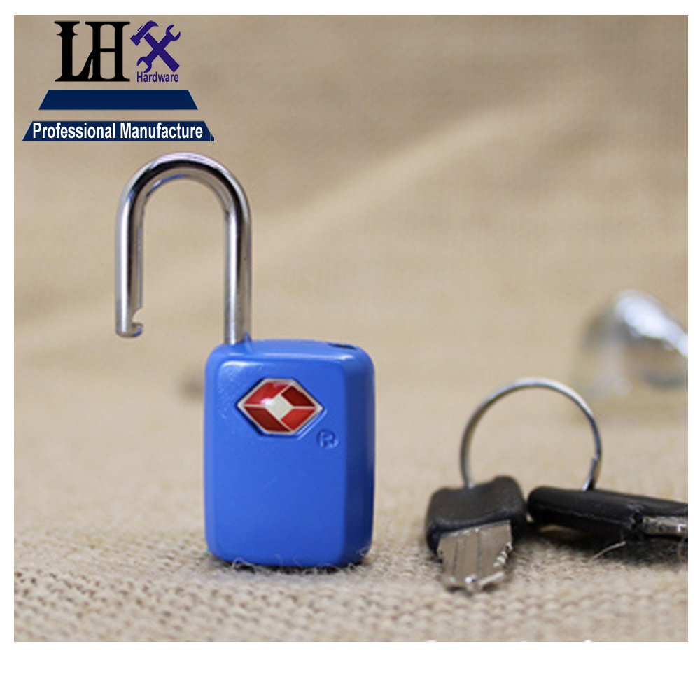 Rarelock Blue Tsa Zinc Alloy Small Luggage Bag Travel Suitcase Security Zipper Lock Portable Mini Padlock For Bags Safe Backpack Locks A In From Home Improvement On
