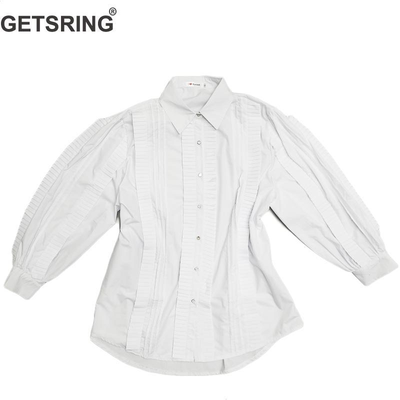 695b24ba594 GETSRING-Femmes-Chemise-Irr-guli-re-Volants-Couture-Diamant-Blanc-Coton -Chemises-Femmes-Solide-Couleur-Mode.jpg