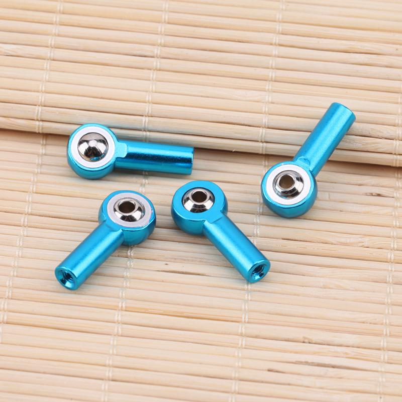 4pcs/set M3 Tie Rod End Metal Pull Link Ball Joint for 1:10 Traxxas Hsp Redcat Rc4wd Tamiya Axial scx10 D90 RC Car