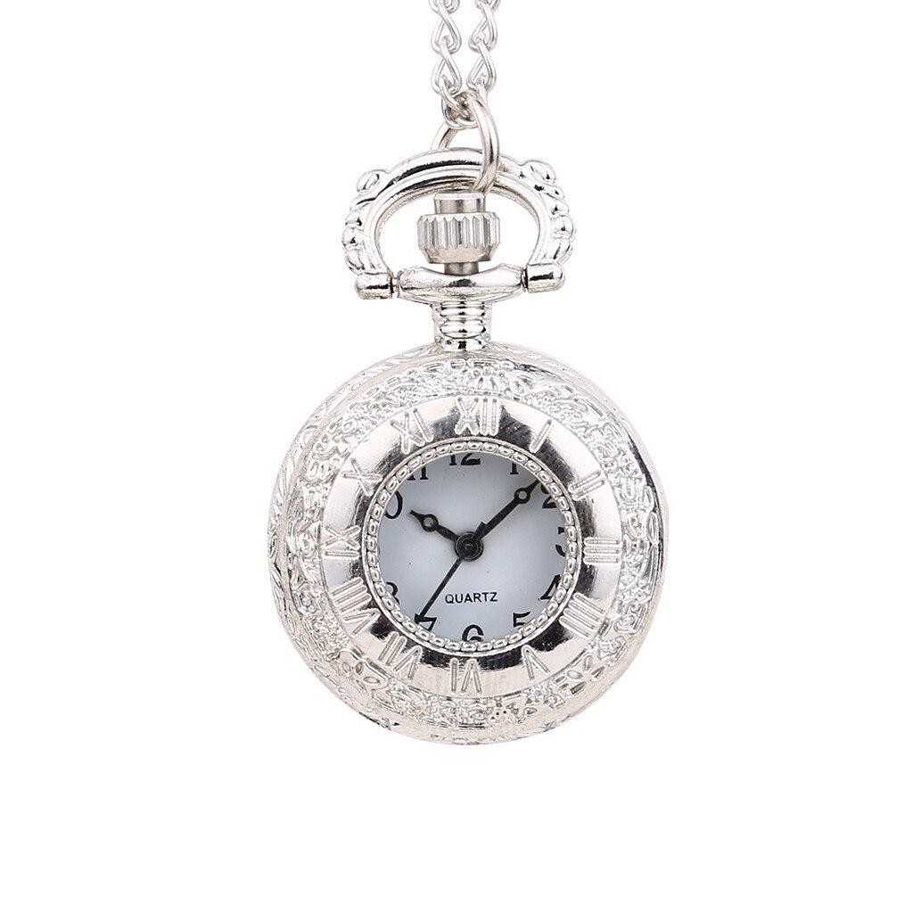 New Personality Quartz Pocket Watch Fashion Light Pendant SmallPocket Watch Man Woman Kid Gift Necklace Clock Couple Old Man Wat