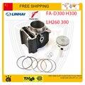 Linhai buyang FA-D300 H300 atv quad багги go kart buyang 300cc цилиндров поршневых колец контактный 72.5 мм аксессуары бесплатная доставка