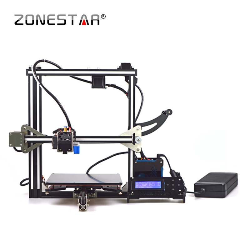 Free Shipping Full Metal Aluminum Frame Auto Leveling Bowden Extruder LCD SDCard Filament Reprap Prusa i3