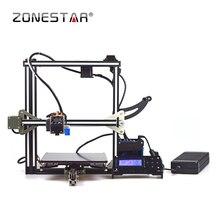 ZONESTAR D805 Боуден Экструдера Reprap Prusa i3 3D Принтер DIY kit ЖК Бесплатная Доставка SD Карты Нить Авто Levelin
