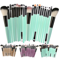 New 22pcs Cosmetic Makeup Brush Blusher Eye Shadow Brushes Set Kit Drop Shipping 1031