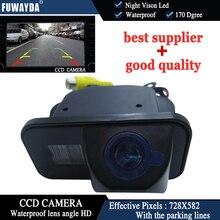 Парковочная Автомобильная камера заднего вида FUWAYDA, CCD, 170 градусов, с контрольной линией, водонепроницаемая камера ночного видения для TOYOTA ...