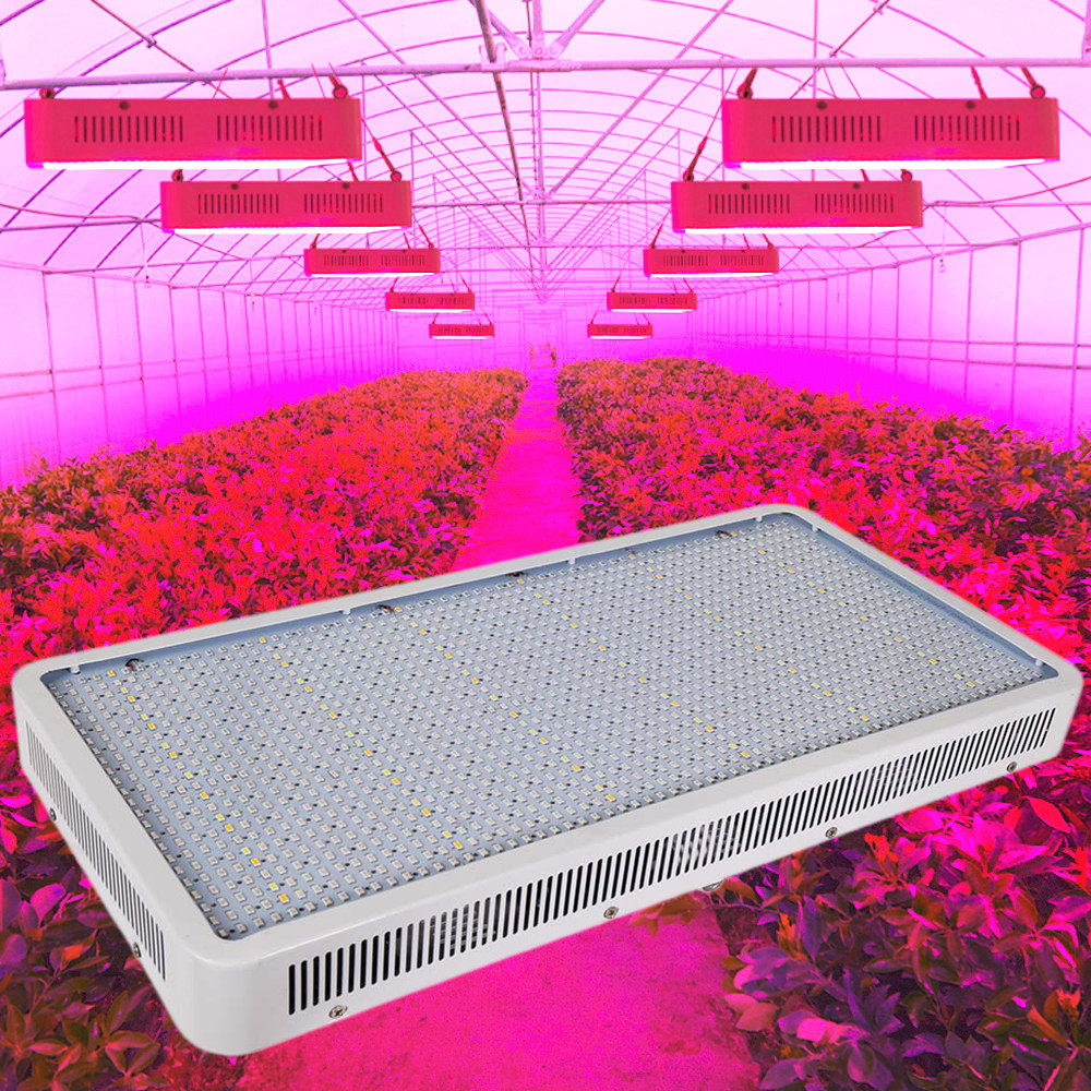 Full Spectrum 1600W LED Grow Light Red/Blue/White/Warm/UV/IR AC85~265V SMD5730 Plant Lamp For Indoor Plant Growing and Flowering new 8 band 50w 100w 50 2w grow light led chip full spectrum led red blue uv ir white for indoor plant seeding growing flower