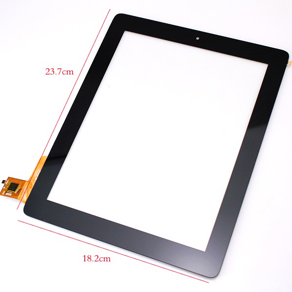 New 9.7 inch Touch Screen Digitizer Glass For Ritmix RMD-1058 RMD-1080 tablet PC Free shipping