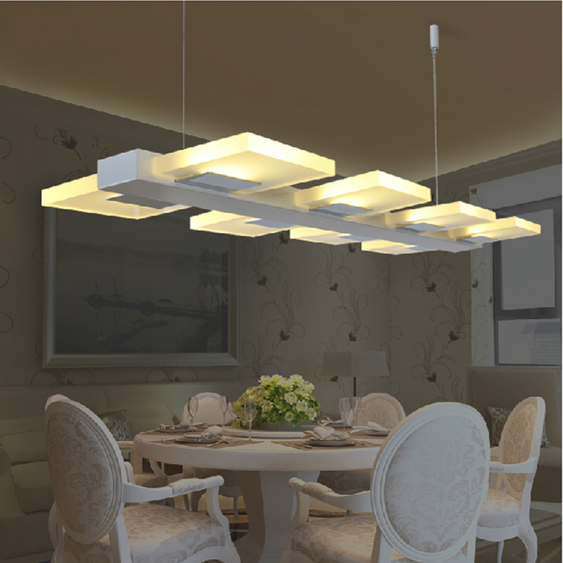 Aliexpress Buy Led Kitchen Lighting Fixtures Modern Lamps For Dining Room Cord Pendant Light Bar Counter Hanging From