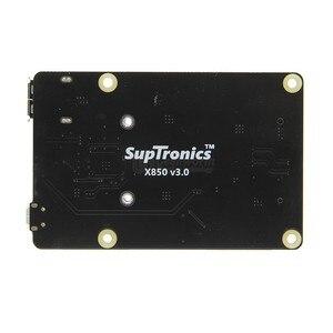 Image 3 - X850 V3.0 mSATA SSD GPIO Micro USB плата запоминающего устройства + чехол для Raspberry Pi 3 Модель B +