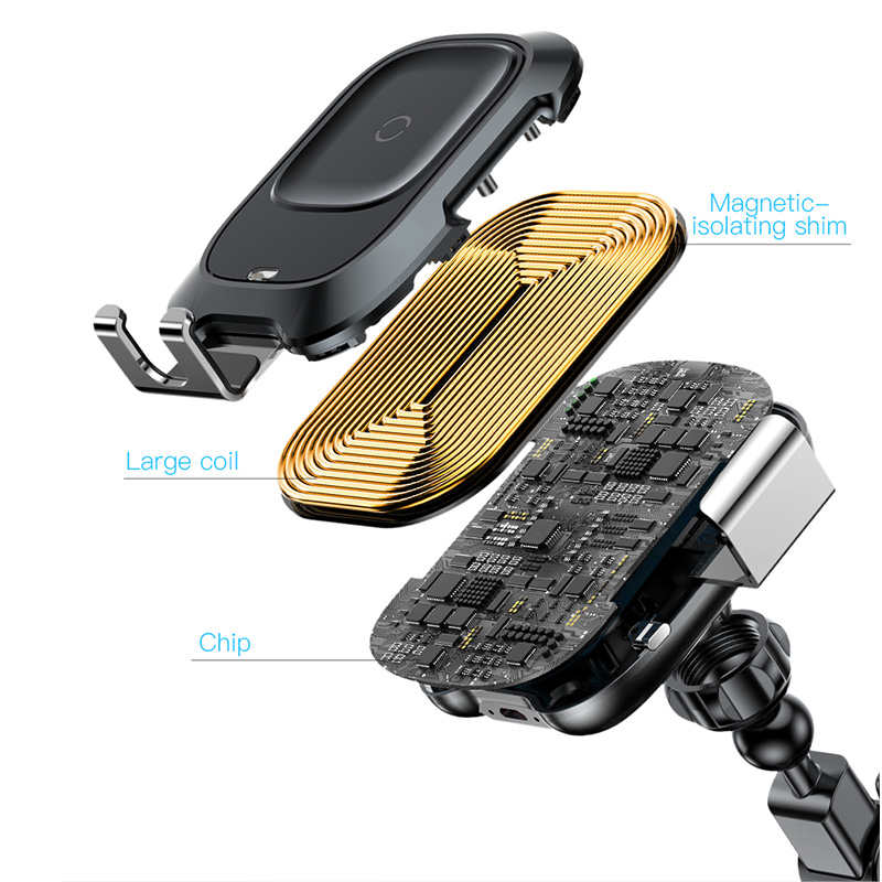 Baseus Qi Car Wireless Charger For IPhone Charger Infrared