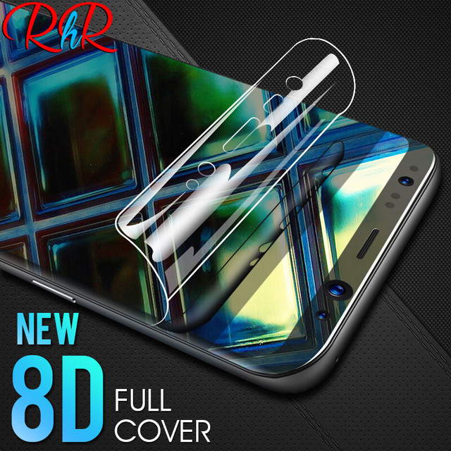 RHR 8D Full Cover Soft Hydrogel Film For Samsung Galaxy Note8 S8 S9 Screen Protector For Samsung S9 S8 S7 S6 Edge Plus Not Glass