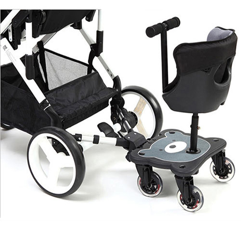 Multifunction Baby Stroller Pedal, General auxiliary pedal pram Baby children's stand Baby stroller pedal