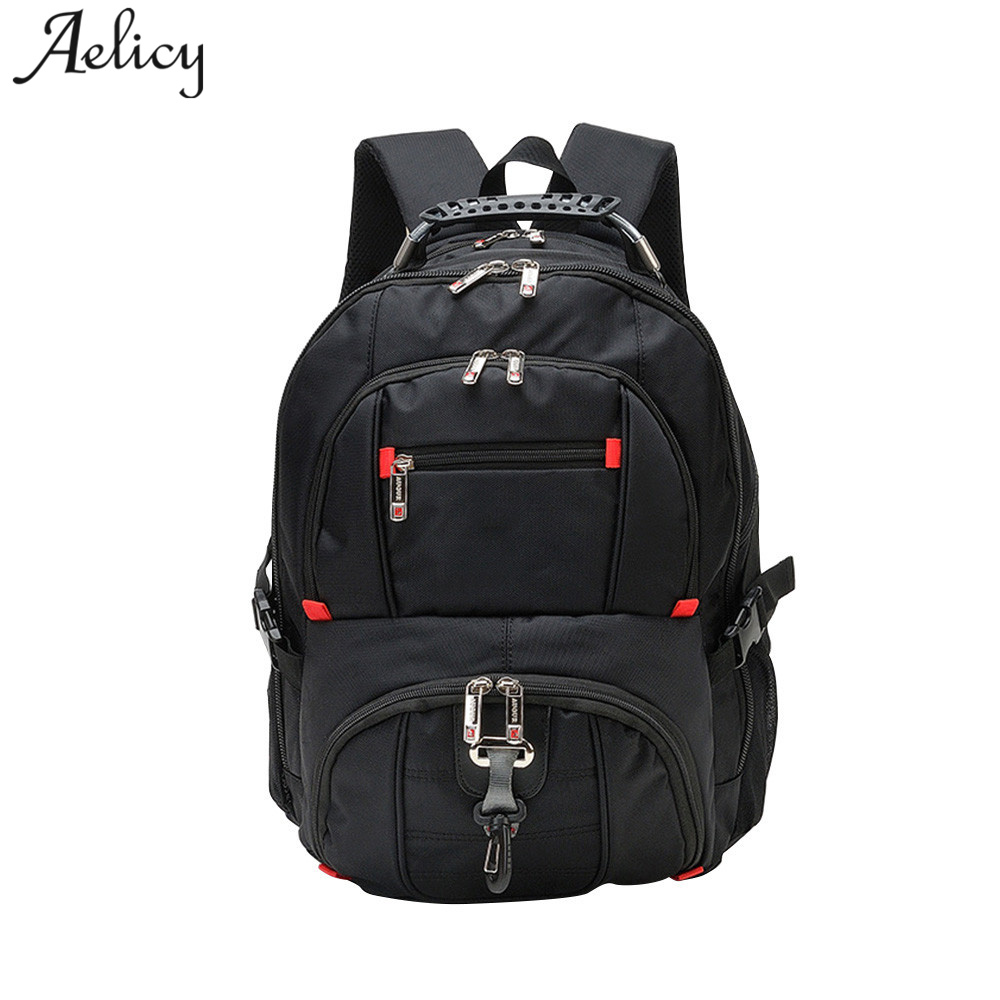 Aelicy High Quality Oxford Waterproof Laptop Backpacks Women Fashion Travel Large Capacity School bag Teenage Mochila MasculinaAelicy High Quality Oxford Waterproof Laptop Backpacks Women Fashion Travel Large Capacity School bag Teenage Mochila Masculina